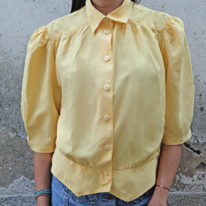 vintage shirt in yellow